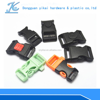 3/4 side release buckle,adjustable side release buckle,safety breakaway side release plastic buckles