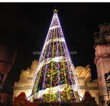 Giant metal christmas decorations large outdoor artificial trees