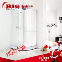 Sales promotion!Queen-bath JR8410 high quality 2015 aluminum glass folding door