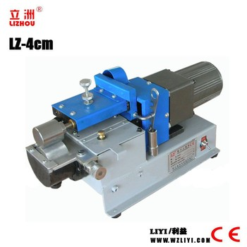 LZ-4cm single side strong force small gluing machine for white glue