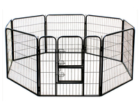 china factory metal dog cage,folding pet cages