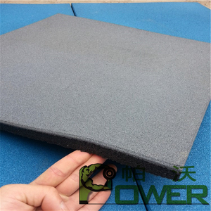 Hot sale outdoor rubber floor tile for playground with certificate