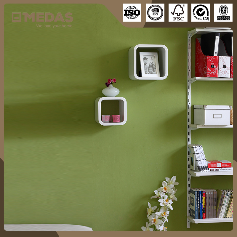 Wholesale New Style Wooden Cubes Shelf Wall Decoration