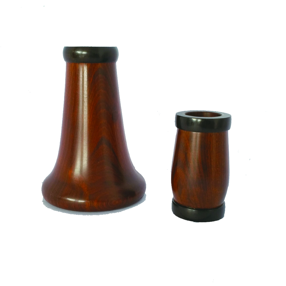 Professional  Rosewood   clarinet barrel and bell