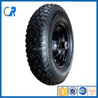 400-8 wheel barrow tire with rim