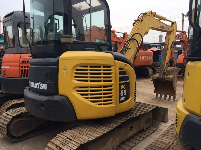 Used mini Komatsu Midi PC55 excavator PC55MR-2, PC50, PC60