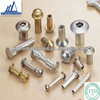 2015 high precision hardware screws and fastener binding posts brass book screw all kinds of book screw