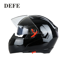 Classic motorcycle helmets flip up helmet with double visor