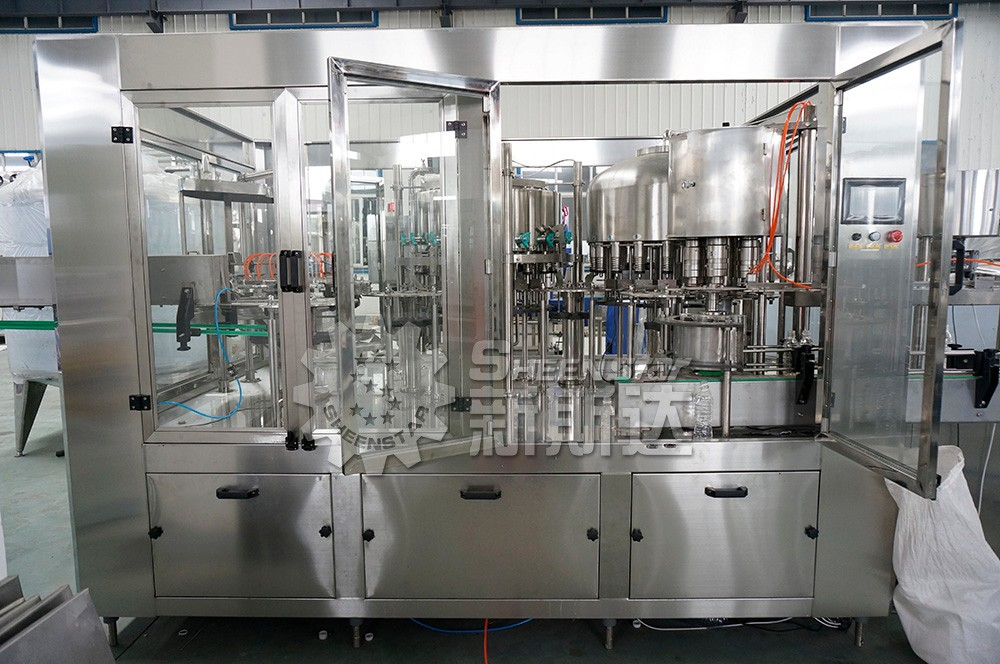 New juice/beverage washing filling capping machine