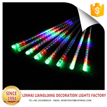 hot sale factory price led garden decoration light colorful meteor