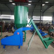 Farm machinery Combined Small feed mixer grinder