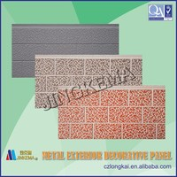 Thermal insulation decorative panel for steel structure housing, sentry box, villas, building walls