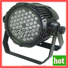 WLP-15-1 54pcs rgbw 3w led waterproof aluminum led par can rgbw 200 watts 54 3w led par