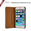 2017 delicate mini secerity magnetic flip stand wallet case cell phone display case for iphone 6/6s