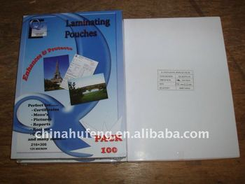 A3 Laminating pouch film