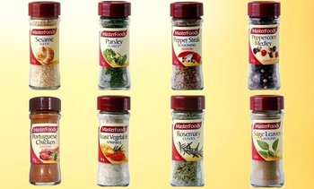 MASTERFOODS Herbs and Spices