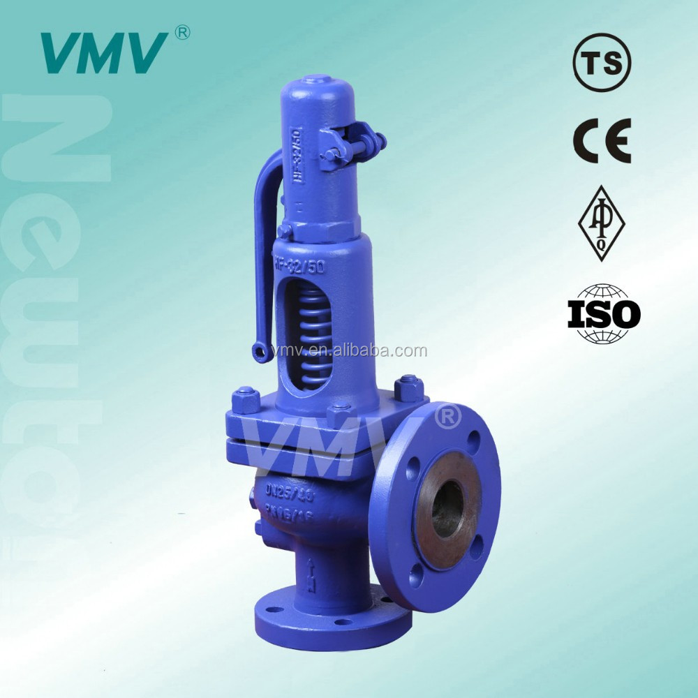 China Manufacturer VMV Steam System and Thermal Oil System 902 DIN Cast Steel PN40 DN50*80 Pressure Safety Relief Valve