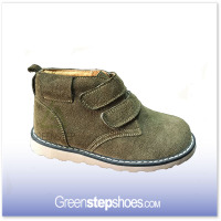 Suede Fabric Rubber Sole Children Shoes Sneaker Kids Brand Boots Casual