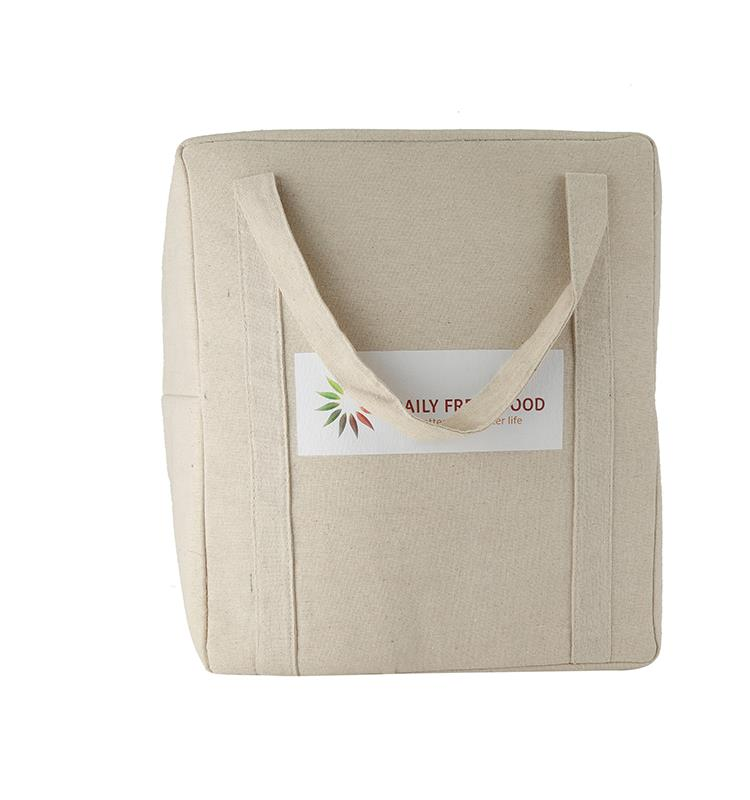 Top Quality Factory Wholesale Canvas Cotton Shopping Tote Bag, Recyclable Cheap Promotional Canvas Cotton Bag