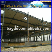 China professional manufacturing steel structure shed