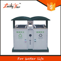 Factory direct eco-friendly SD002 touchless automatic sensor 30L garbage bins stainless steel trash can color silver waste bin