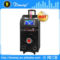 Beautiful manual super bass portable speaker with USB,SD card,FM radio