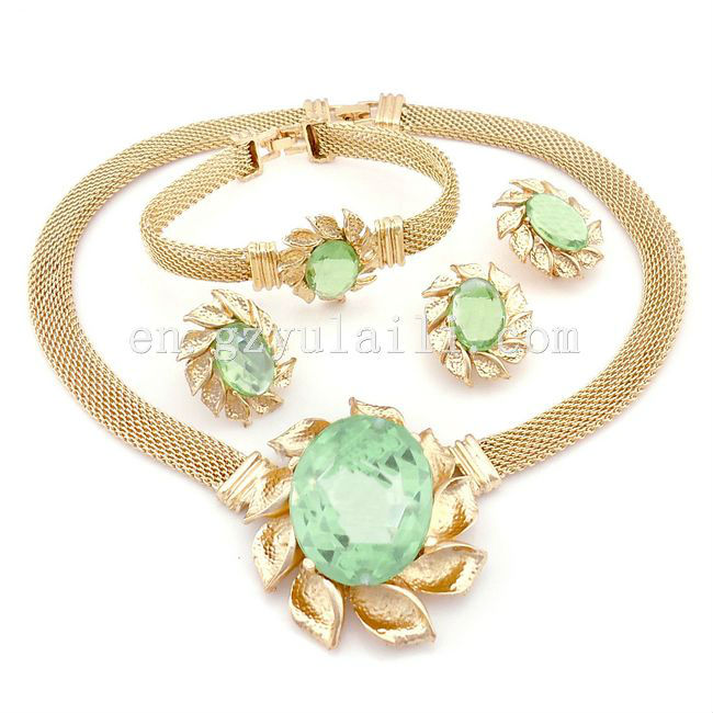 cute asian indian jewelry / 18k middle east jewelry / jewelry set