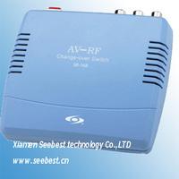 seebst SB-168 AV to RF Modulator RF CONVERTER DIGITAL TV SIGNAL CONVERTER