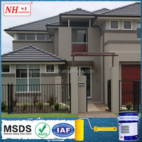Waterproof texture wall coating