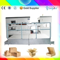 china run smoothly electric semi auto die cutting machinery