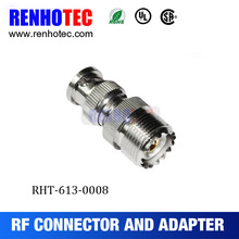 High Quality BNC Male Plug to UHF Antenna Female Jack Connector Adapter
