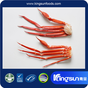 Frozen BQF Red Snow Crab Cluster with Great Quality