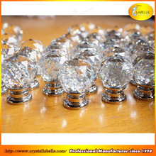 Clear Crystal Knobs Crystal Pull Handles Clear Glass Knobs Wholesale