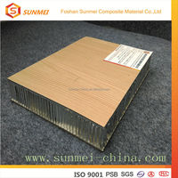 Bamboo Aluminum Honeycomb Panel for exterior wall