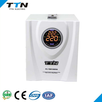2017 hot sale TTN Brand model PC-TBR500VA ac voltage stabilizer