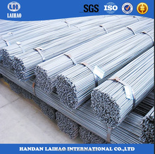 HRB400 steel rebar, deformed steel bar for construction