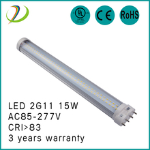Hot sale 2g11 pll led tube 18W led light 180 degree 4 pin 2g11 led pl lamp