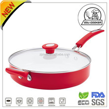 Best Selling ceramic Frying Pan with double handle