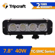 40w car pilot led light, led high bright auto lights 7.8 inch led daytime running lights