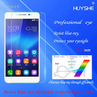 HUYSHE Anti finger prints 9H supershieldz screen protector for huawei honor 6