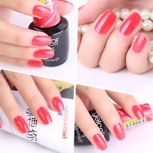 2017 Hot Sale Factory Gel Nail Art System Soak off UV GelColor Nail Gel Polish