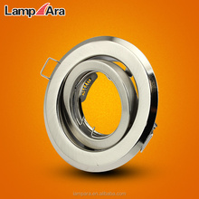 Recessed Ceiling Gimbal GU10 Spotlight Fitting, GU10 Halogen Downlight Fixture