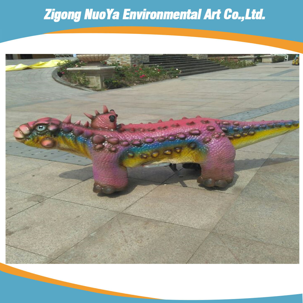 Artificial customized Dinosaur Ride for outside