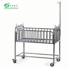 Promotional Infant Hospital Bed Baby With 4 Caster