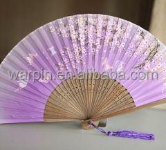 Custom Printed Decorate Your Own Paper Folding Fans
