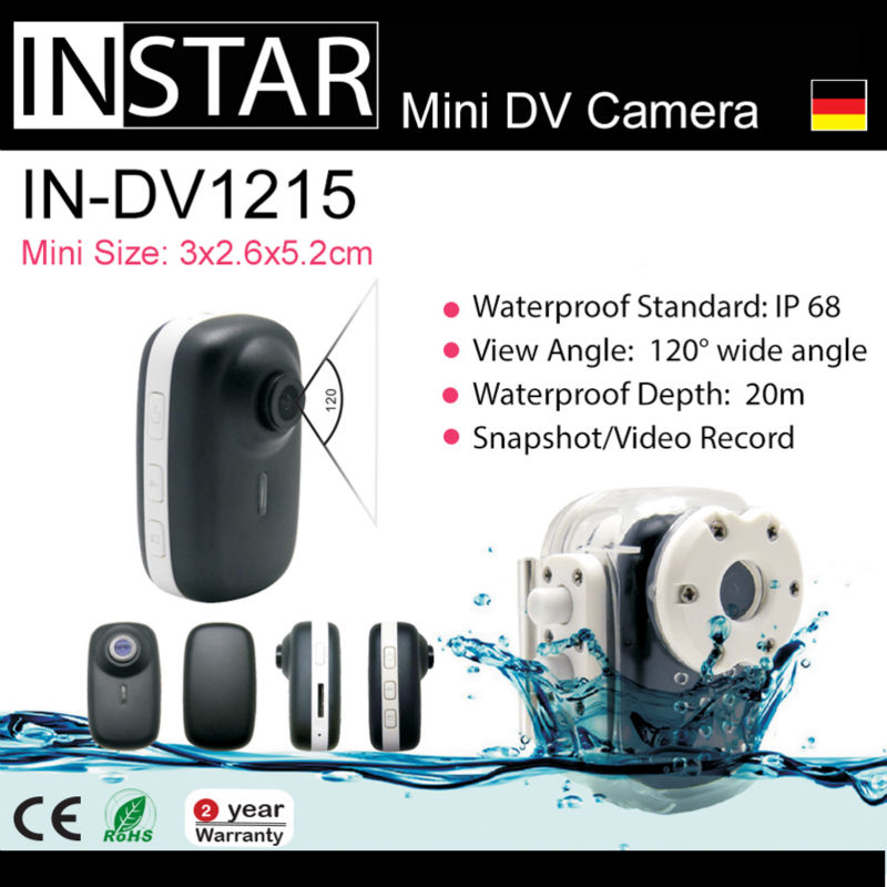INSTAR IN-DV1215 Car Mini DV Camera