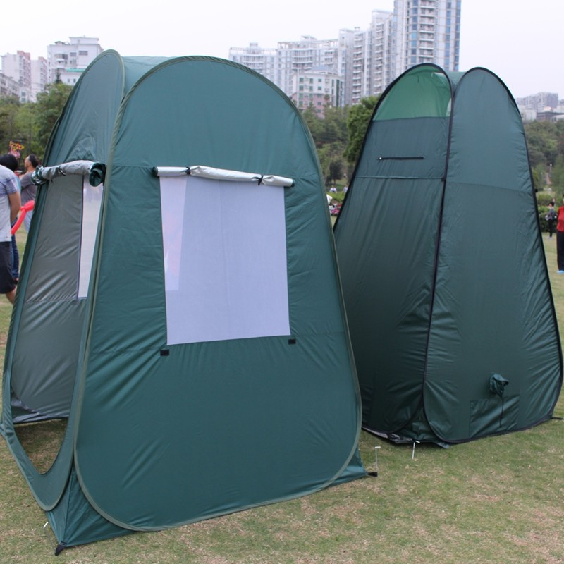 Best selling items 1-2 person shower toilet tent for sale