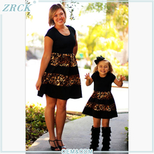 Mother and Child dress high end fashion wholesale children clothing overseas