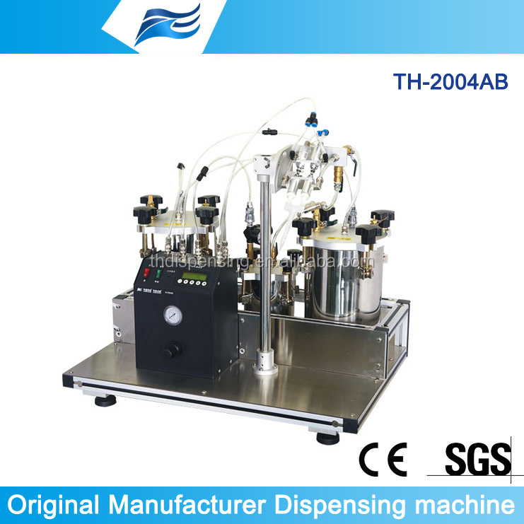 Two component mixing/metering Coating machine for Epoxy Resin,Ab Glue,Epoxy Resin Hardener