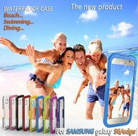 For Samsung Galaxy S6 Edge 8 Meters Waterproof Mudproof Water Resistent Shockproof Underwater Case